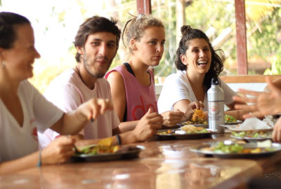 dining hall in goa
